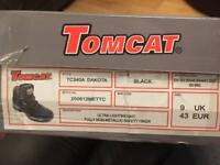 Size 9 Resin toe cap safety boots BNIB