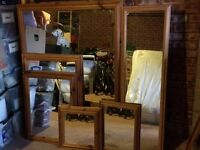 Various sizes of mirror for sale