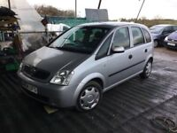 2004 VAUXHALL MERIVA 5 DOOR HATCH LOVELY DRIVER LONG MOT IDEAL CHEAP RUNABOUT ANY TRIAL WELCOME
