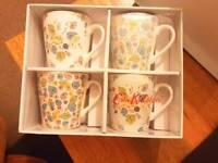Cath Kidston - Set of 4 Mini Stanley Mugs