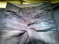 Mens Debenhams Denim Jeans 36 long