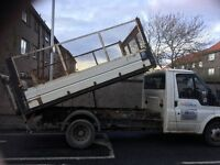 Tipper tail lift and side cages