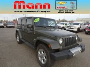 2015 Jeep WRANGLER UNLIMITED SAHA    PST paid, Remote start, 4WD