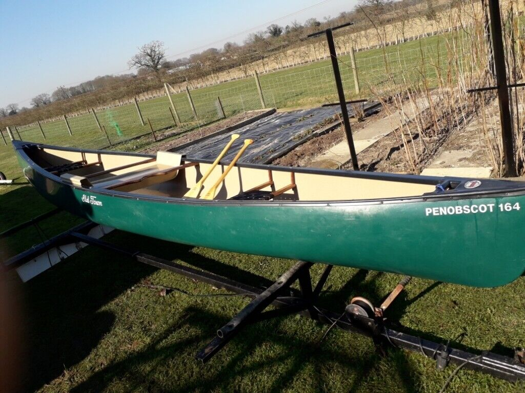 OLD TOWN PENOBSCOT 164 DISCOVERY CANADIAN CANOE | in Blofield, Norfolk |  Gumtree