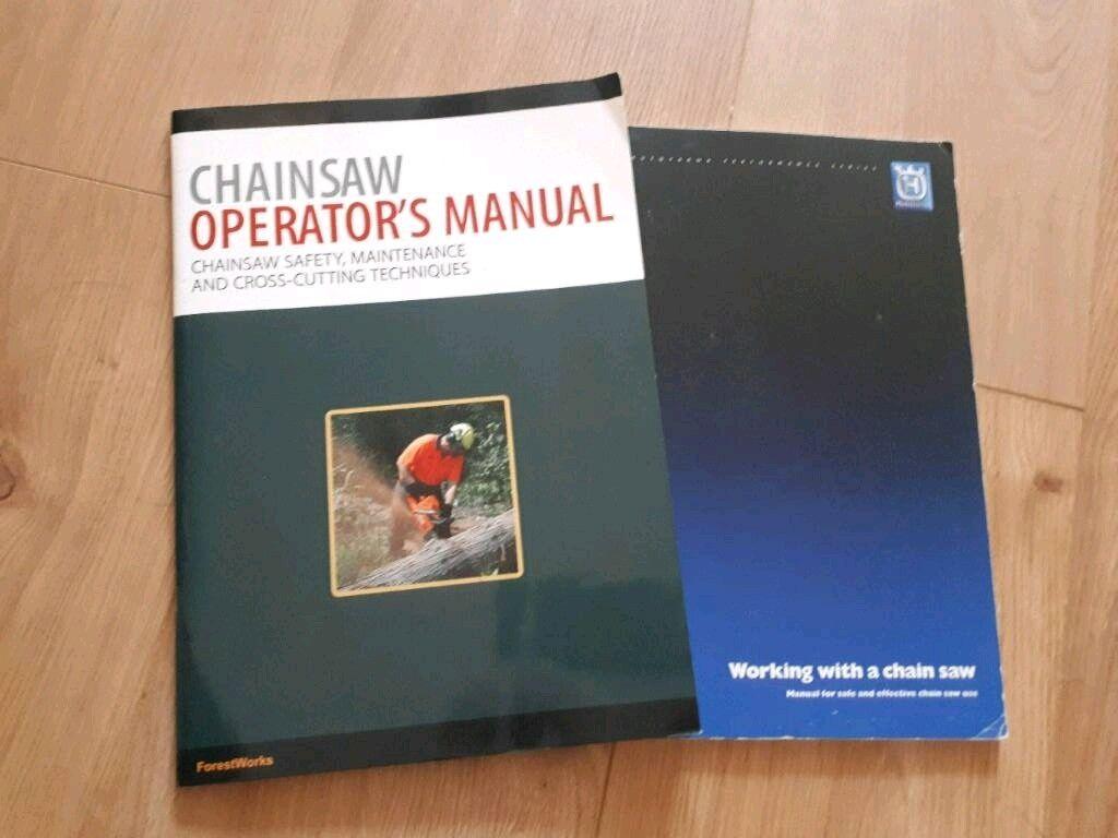 husqvarna chainsaw manual