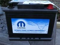 Heavy Duty STOP / START Mopar Car Battery - FIAT - Ascot Berkshire