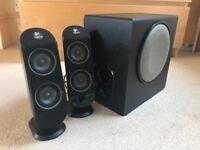 Logitech X-230 multimedia speakers