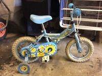 Girl's Bike - aged 3 + suitable