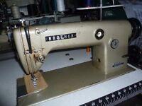 BROTHER DB2-B755-3 Industrial Flatbed Lockstitch sewing machine