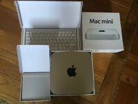 Apple Mac Mini Mid 2011, 2GB RAM, 2.3GHz, 500GB Hard Drive - With keyboard and trackpad