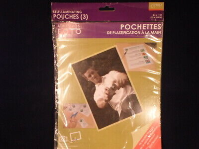 Pinnacle Snap Self Laminating Pouches 8.5 X 11 Inches Photo Certificates  E11-3