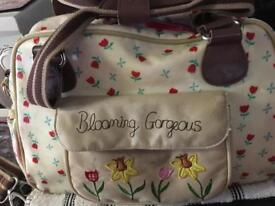 Yummy mummy/blooming gorgeous changing bag