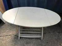 Drop leaf side table with FREE DELIVERY PLYMOUTH AREA