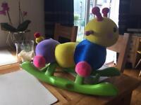 Rocker worm toy
