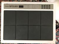 Roland Spd 20 with stand