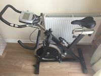 Carl lewis spin bike