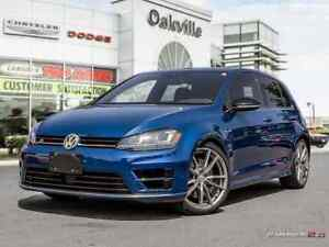 2017 Volkswagen Golf R 2.0 TSI | AWD | 6 SPEED | NAV | HEATED LE