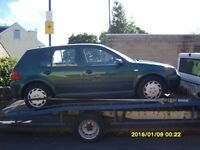 VW GOLF 1.9 TDI MK4 BREAKING FOR SPARES