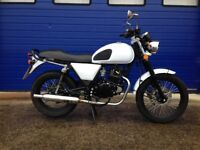 2017 PIONEER XF125R , VERY LOW MILES , CAFE RACER , STREET SCRAMBLER MOTORBIKE HPI CLEAR , SERVICED