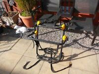 Halfords 4x 4 spare wheel cycle carrier...Will hold two bikes