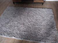 Next Home rug. Polyester. Natural colour