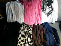 Maternity clothes 7 items mostly UK 8-10. Only £2 per item!