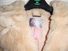 LIPSY FUR 3/4 LENGTH WINTER COAT SIZE 8 will post out