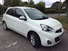 64 PLATE NISSAN MICRA Facelift Model in WHITE CAT D 4,000 Genuine Miles EXCELLENT CONDITION