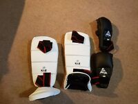 Karate Shin Pads + Gloves/Mitts
