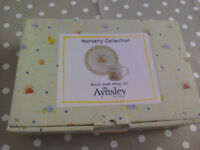 Aynsley Nursery Collection. My First Mug and Bowl Set. This is Brand new in gift box. New Baby