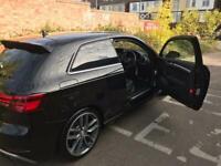 Audi s3 2017 black 3dr virtual cockpit