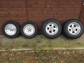 Hotrod Wheels and Tyres