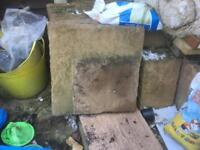 20 x 2ft by 2ft slabs for sale