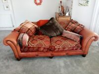 Tetrad 3 and 2 seater couch