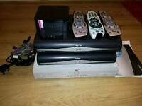 3 Sky box's, router brodband router, wirless conector