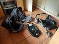 Mothercare roam travel system with isofix car seat base