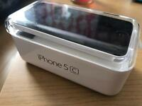 IPhone 5C 8GB White EE/orange Boxed up