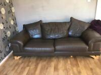 Leather sofa NOWSOLD