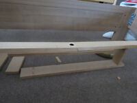 Great King Size IKEA bed with Matress