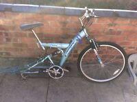 Bike frame +front whell