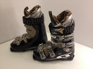 Dalbello Electra 8 women's ski boots, size 24.5 Mondo, flex 85