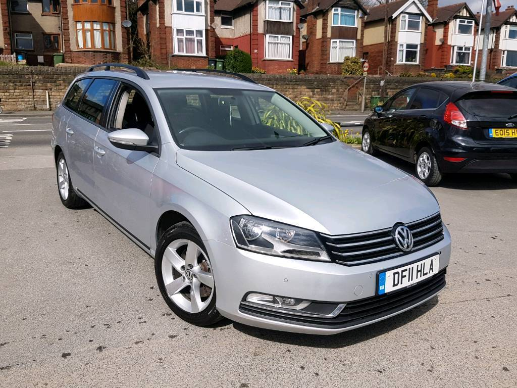 2011 volkswagen passat 2 0 tdi bluemotion tech se estate silver new shape 1 owner in dewsbury. Black Bedroom Furniture Sets. Home Design Ideas