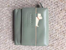 Radley Light Green Leather Purse/Wallet
