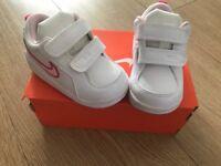 Baby girls Nike trainers