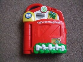 Leap Frog Tad's Counting Farm Book
