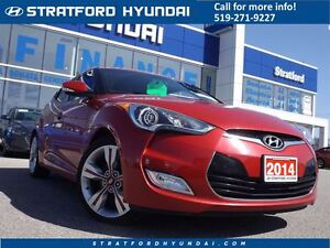2014 Hyundai Veloster Tech | NAVIGATION | SUNROOF | ONLY 27K! |