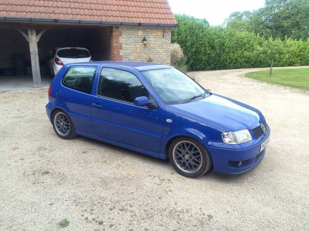 vw polo 6n2 2001 gti rep in surf blue in glastonbury somerset gumtree. Black Bedroom Furniture Sets. Home Design Ideas