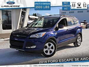 2014 Ford Escape **SE*AWD*NAVI*CAMERA*CRUISE*A/C**