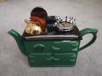 Aga Green Teapot with removable lid