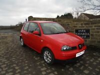 Seat Arosa S In Red, 2004 04 reg, Service History, 9 Service Stamps And Service Receipts